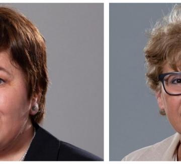 Стела Балтова и Виолета Комитова – две доцентки в служебния кабинет