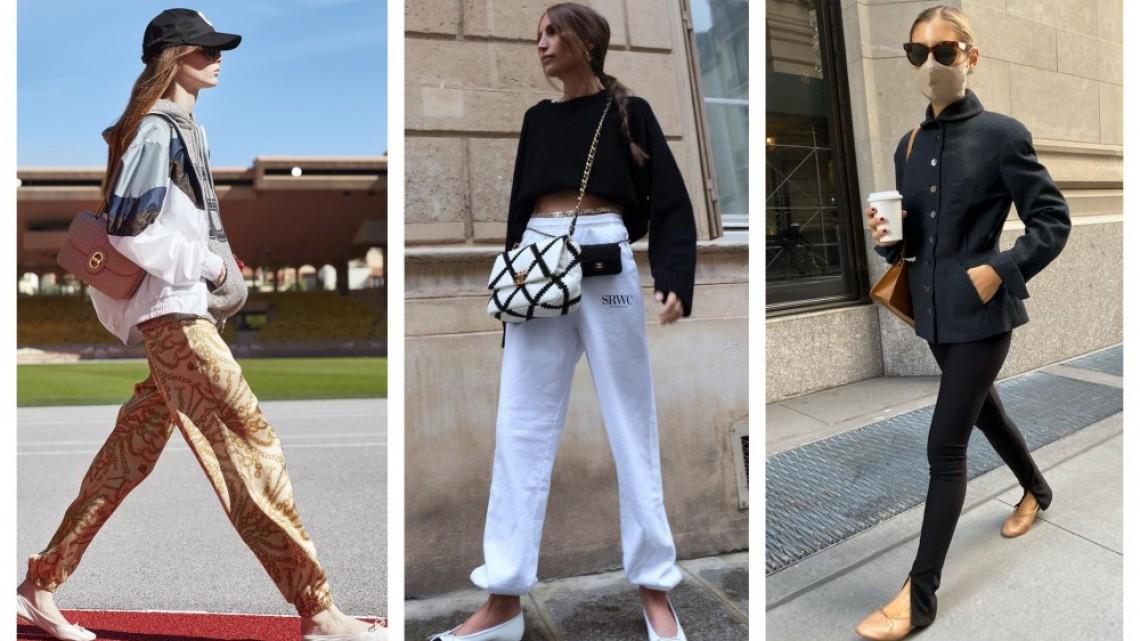 10 стайлинг идеи как да носим любимите ни балерини тази пролет