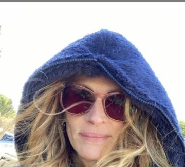 Джулия Робъртс, която няма нужда от грим, за да бъде хубава жена