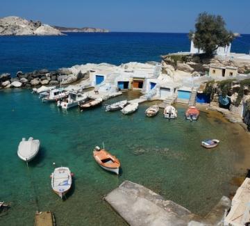 Морето в Гърция и Испания - една идея по-лесно
