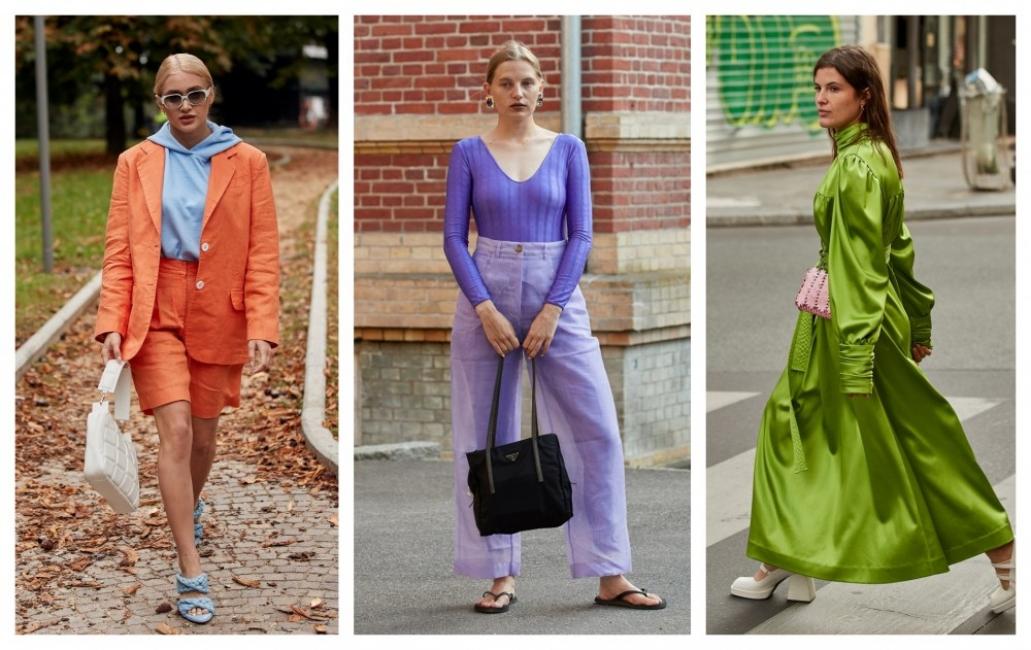 10 стайлинг идеи с цветовете, които ще носим това лято