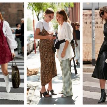 7 стайлинг идеи как да носим блуза или тениска под роклята