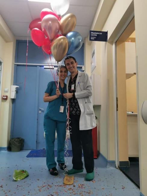 """Медици си казаха """"Да!"""" в операционната на """"Пирогов"""""""