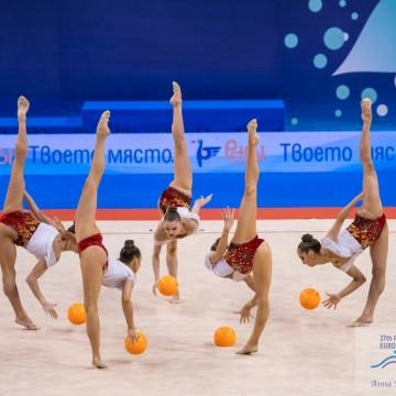 Гимнастичките ни отново на върха -  европейска титла във финала с пет топки
