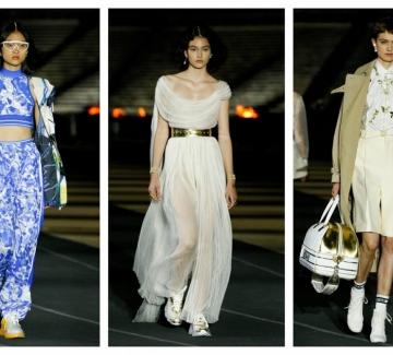 Белослава Хинова отново дефилира за Dior