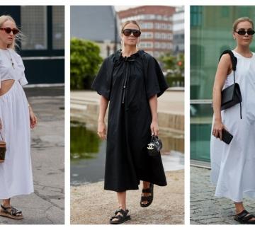 10 страхотни рокли в черно и бяло, които ще носим това лято