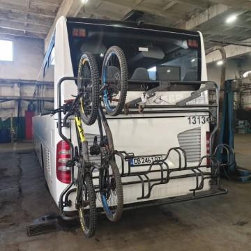 С колело и автобус на Витоша