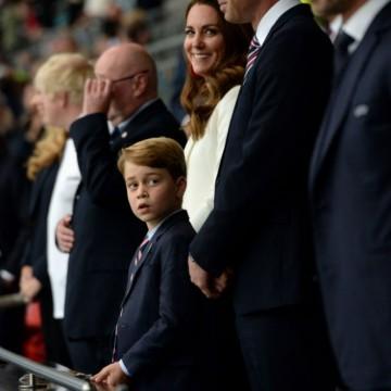Принц Джордж умили зрителите на финала на Евро 2020