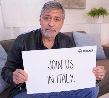 Покана за вечеря от Джордж Клуни