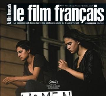 Мария Бакалова и Ралица Стоянова на корицата на френско списание