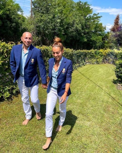 Ивет Лалова и съпругът й - готови за Олимпиадата