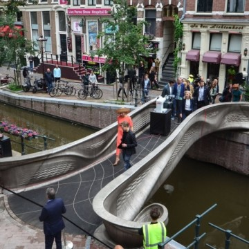Първият в света 3D принтиран стоманен мост