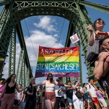 Прайдът в Будапеща – протест срещу дискриминацията