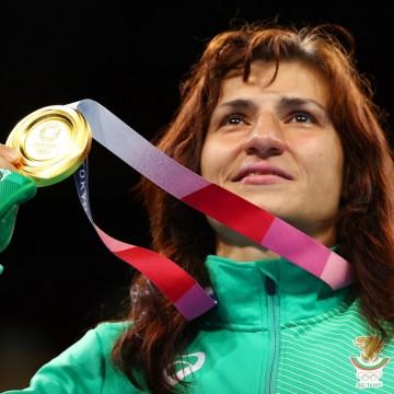 Историческа победа на Стойка Кръстева и злато за България!