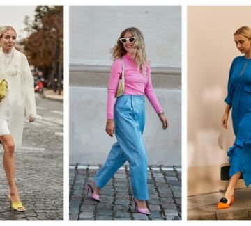 10 стайлинг идеи с цветните обувки, които всички носят това лято