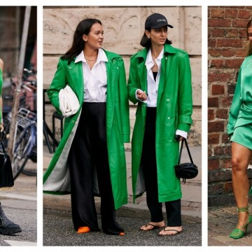 7 стайлинг идеи със зеленото, което е новото черно