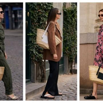 5 стайлинг идеи как да носим сламените чанти в града