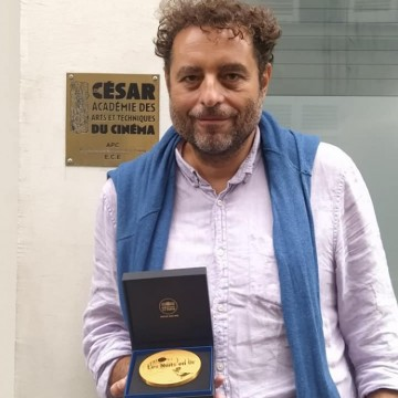 """Теодор Ушев с почетен медал от Френската академия за кино """"Сезар"""""""