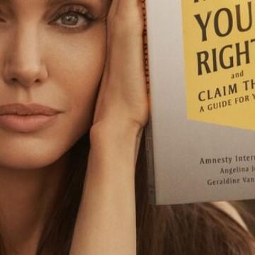 Анджелина Джоли с детска книга за правата на човека