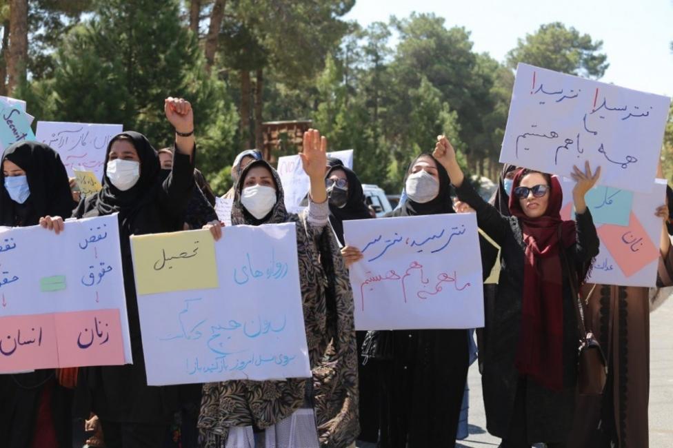 """Гримьорка от Кабул: """"Жените като мен са мишени на талибаните"""""""