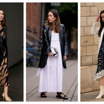 9 стайлинг идеи как да носите любимите си летни рокли и през есента