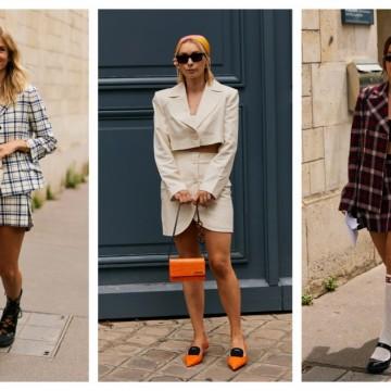 5 начина как да носите костюм с пола, без да изглежда скучно