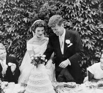 Джаки и Джон Кенеди - сватбата на хилядолетието