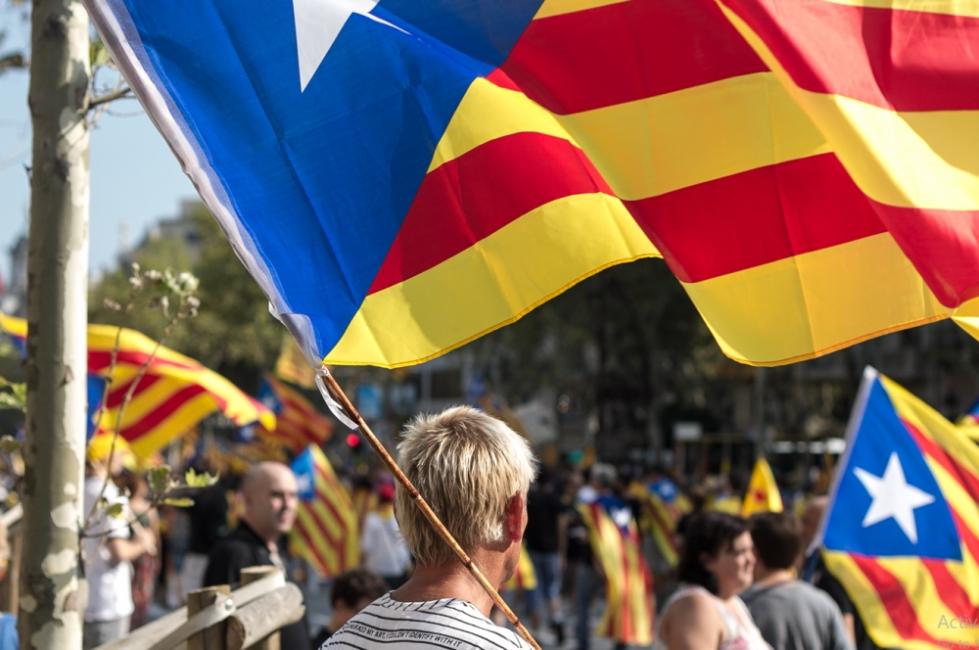 Хиляди протестираха за независимост на Каталуния