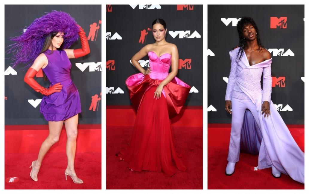Наградите на MTV и червеният килим: Дързост и красота