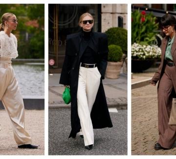 7 стайлинг идеи с обувките, които са перфектни за широки панталони