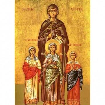 Вяра, Надежда, Любов и мъдрата им майка София