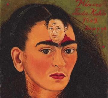 """""""Диего и аз"""": Автопортретът на Фрида Кало, който струва милиони"""