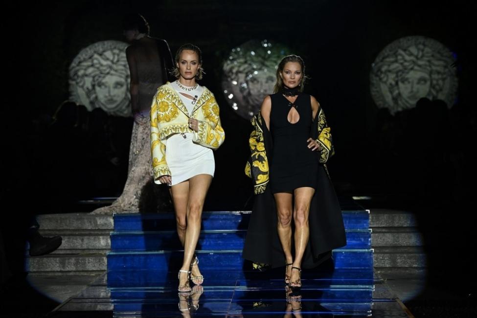 Супермодели в едно супершоу закриха Седмицата на модата в Милано