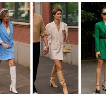 5 стайлинг идеи как да носим блейзъра като рокля