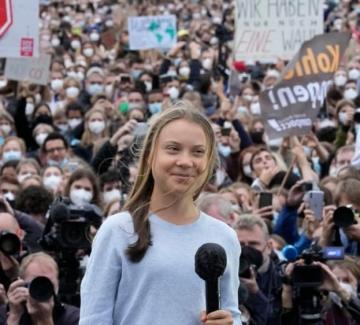 Грета Тунберг осмя световните лидери