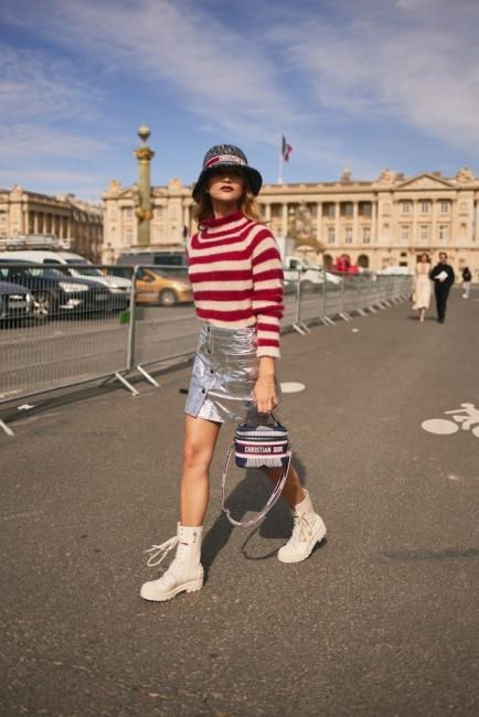 7 стайлинг идеи от улиците на Париж за този уикенд