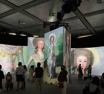 Изкуство и технологии си подават ръка в изложба на Гоя