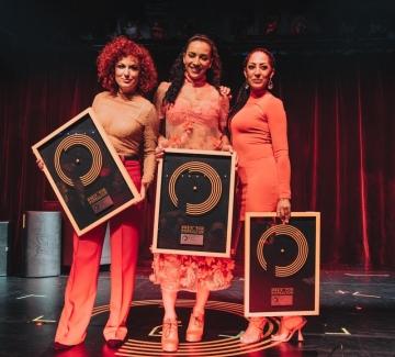 Люси Дяковска и групата й с награда за принос в немската попкултура