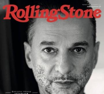 Dave Gahan на корицата на ноемврийския брой на Rolling Stone!