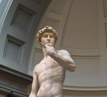 Цензурираха голия Давид на Микеланджело в Дубай