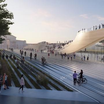 Архитектурното студио на Заха Хадид ще обнови жп гарата във Вилнюс
