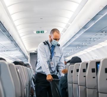 4 скандинавски авиолинии отменят от днес маските по време на полет