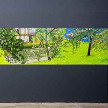 Дейвид Хокни с изложба от творби, създадени на iPad