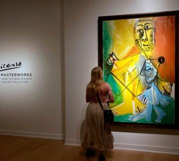Експресионизмът е скъп: Картини на Пикасо събраха над $100 милиона на търг в Лас Вегас