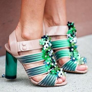 Обувките в Ню Йорк