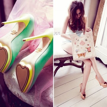 Обувки за Свети Валентин