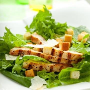 Пет хубави салати Цезар