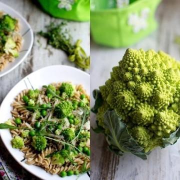 Паста с рoманеско броколи