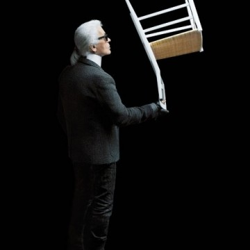 Карл Лагерфелд и неговите столове
