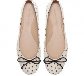 Десет страхотни предложения за дамски обувки тип балеринки